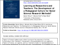 [thumbnail of Kilburn_et_al_Learning_as_Researchers_and_Teachers.pdf]