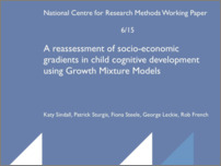 [thumbnail of A reassessment of socio-economic gradients in child cognitive development using Growth Mixture Models.pdf]