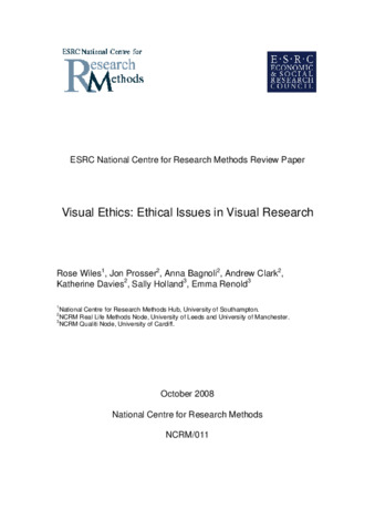 ethical issues for research papers