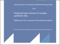 [thumbnail of Analysing large volumes of complex qualitative data.pdf]