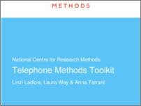 [thumbnail of NCRM Telephone Methods Toolkit.pdf]