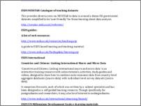 [thumbnail of ESRC Undergraduate Quantitative Methods Initiative list of resources for teachers]