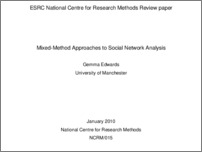 [thumbnail of Methods review paper on Social Network Analysis]